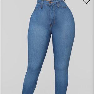 Fashionova classic high waisted jean.